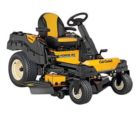 Cub Cadet SX48 Z Force zero turn ride on mower at Riverstone Mower World