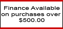 Finance available on purchases over $500